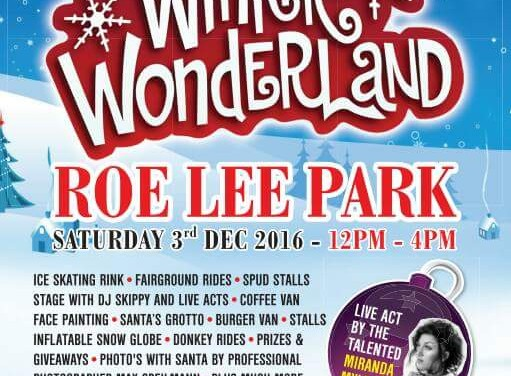 Next event! Winter Wonderland 2016, Roe Lee Park, Blackburn