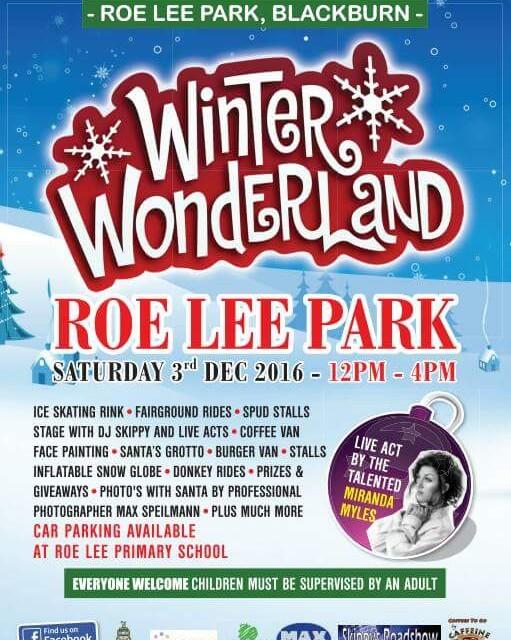 Next event! Winter Wonderland 2016, Roe Lee Park, Blackburn